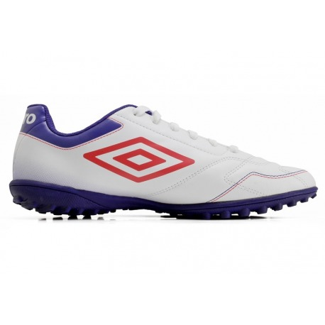Botas de Fútbol UMBRO CLASSICO VI TURF Color blanco Junior