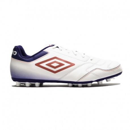 UMBRO CLASSICO VI FOOTBALL BOOTS AG JUNIOR Color white