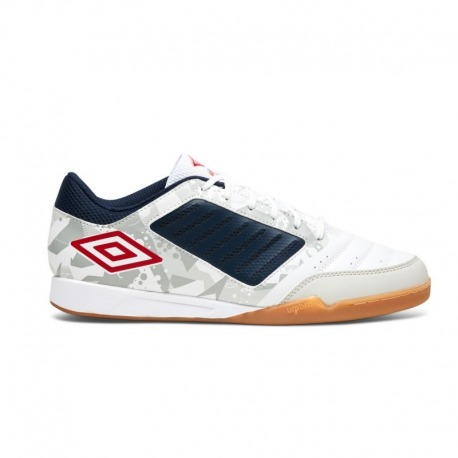 UMBRO CHALEIRA LIGA Indoor Football Shoes, color white