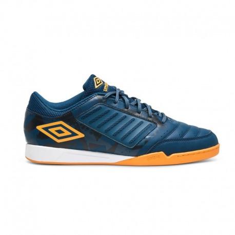 UMBRO CHALEIRA LIGA Indoor Football Shoes, color gibraltar sea
