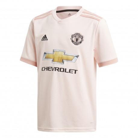 Manchester United AWAY T-Shirt 18/19 - Adidas Junior