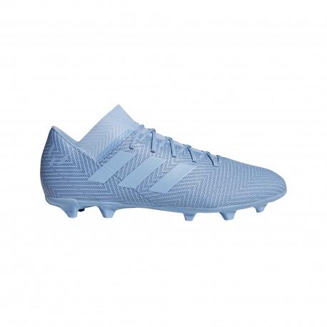 reputable site 8c7ef edd95 Botas de fútbol ADIDAS NEMEZIZ MESSI 18.3 FG Spectral Mode Color azul claro