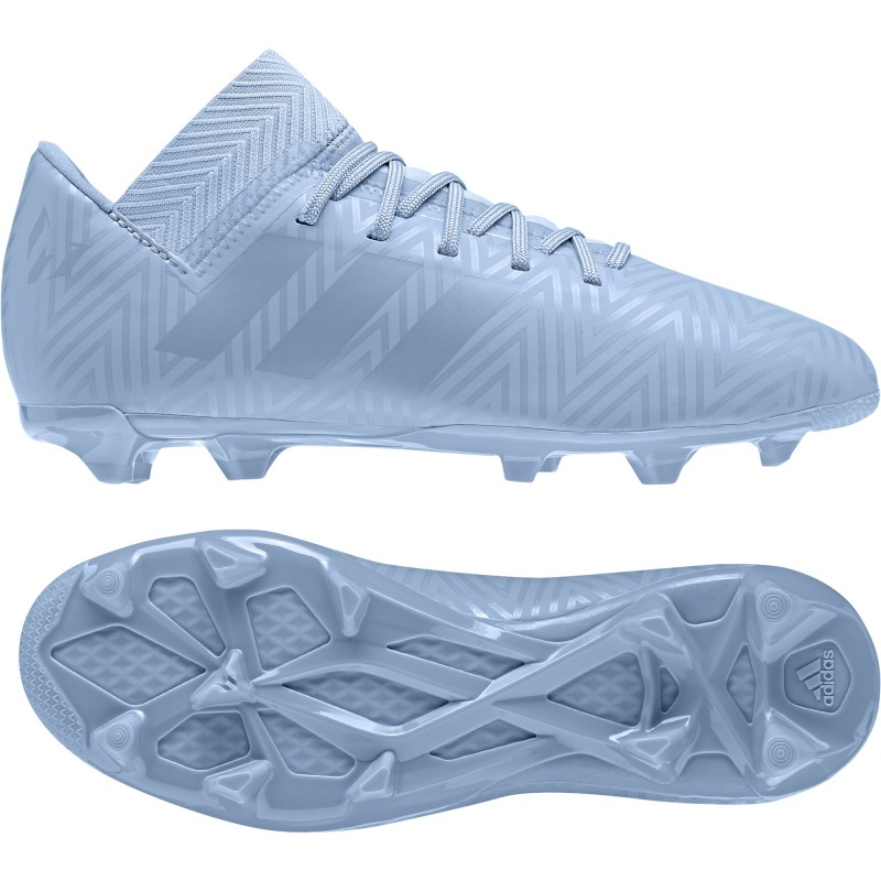best service 6bac5 96e45 ... ADIDAS NEMEZIZ MESSI FOOTBALL BOOTS 18.3 FG JUNIOR Spectral Mode color  ash blue