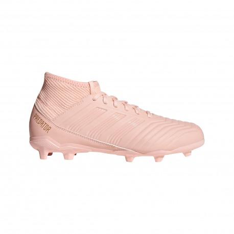 Botas de Fútbol ADIDAS PREDATOR 18.3 FG Junior SPECTRAL MODE Color rosa