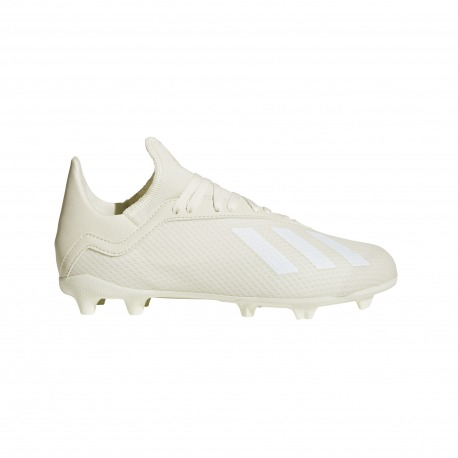 Botas de Fútbol ADIDAS X 18.3 FG Junior SPECTRAL MODE Color blanco