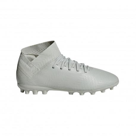 outlet store 034bf 18d8e ADIDAS NEMEZIZ FOOTBALL BOOTS 18.3 AG Junior Spectral Mode Color ash silver