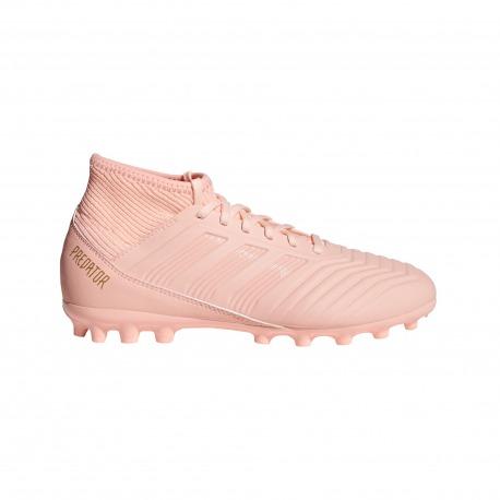 Botas de Fútbol ADIDAS PREDATOR 18.3 AG Junior SPECTRAL MODE Color rosa