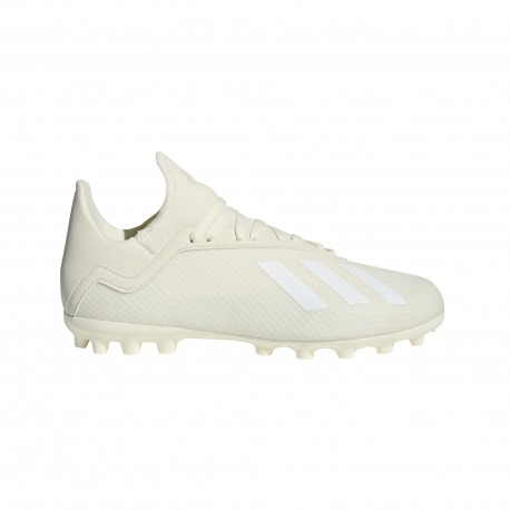 Botas de Fútbol ADIDAS X 18.3 AG Junior SPECTRAL MODE Color blanco