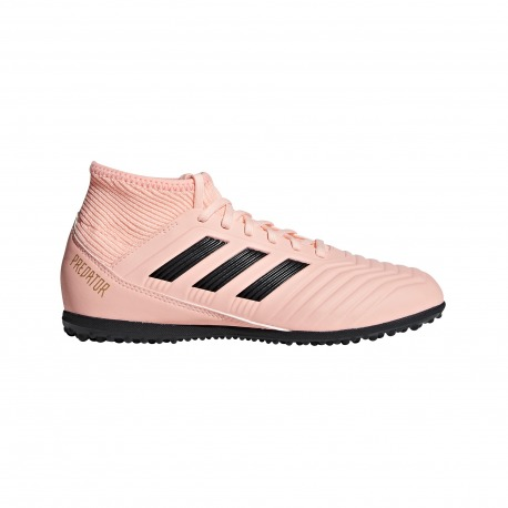 size 40 837df dce63 ADIDAS PREDATOR TANGO FOOTBALL BOOTS 18.3 TURF JUNIOR SPECTRAL MODE COLOR  PINK