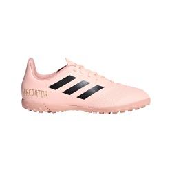 Botas de Fútbol ADIDAS PREDATOR TANGO 18.4 TURF Junior Spectral Mode Color rosa