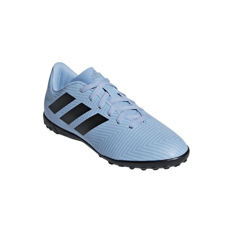 46ae6cf7d ... ADIDAS NEMEZIZ MESSI TANGO FOOTBALL BOOTS 18.4 TURF JUNIOR Spectral  Mode Color ash blue ...