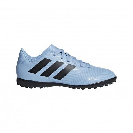 info for bc345 dbe9e Botas de Fútbol ADIDAS NEMEZIZ MESSI TANGO 18.4 TURF Junior SPECTRAL MODE  Color azul claro