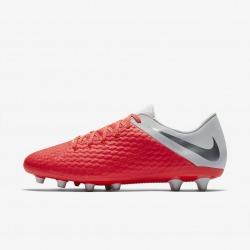 Botas de fútbol NIKE HYPERVENOM 3 ACADEMY AG-PRO Color carmesí