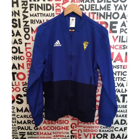 9f383fc5ffa35 Chaqueta de chándal del CADIZ CF 18-19 Adidas