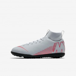 Botas de fútbol NIKE JR MERCURIALX SUPERFLY 6 CLUB TF Junior Color gris