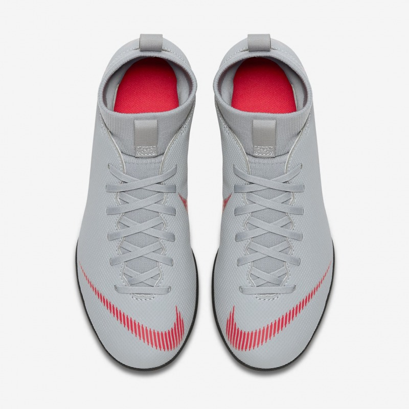 ... Botas de fútbol NIKE JR MERCURIALX SUPERFLY 6 CLUB TF Junior Color gris  ... f7cb66afe66c0