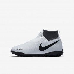 Botas de fútbol NIKE JR PHANTOM VISION ACADEMY DF TF Junior Color platino