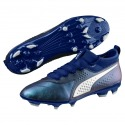 PUMA ONE 3 Lth AG Football Boots Color Sodalite blue-puma silver