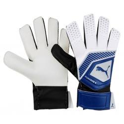 GLOVES GOALKEEPER PUMA ONE GRIP 4 Color blue-silver