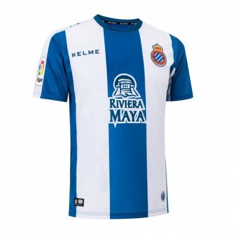 Camiseta de la 1ª equipación del RCD ESPANYOL 18-19 Kelme
