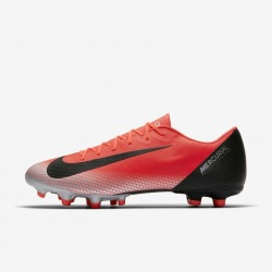 NIKE Football Boots VAPOR 12 ACADEMY CR7 FG/MG Color red