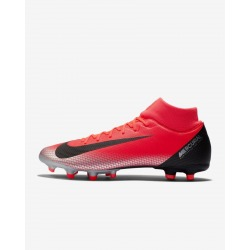 Botas de fútbol NIKE SUPERFLY 6 ACADEMY CR7 FG/MG Color carmesi
