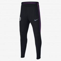 PANTALÓN de CHANDAL del MANCHESTER CITY FC Dri-Fit Squad 18/19 Junior - NIKE