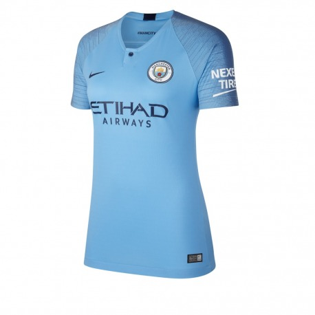 Home MANCHESTER CITY FC Tshirt 18 19 Women - NIKE b2c93425779