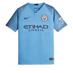Home MANCHESTER CITY FC Tshirt 18/19 Junior - NIKE