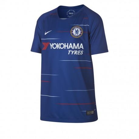270459e4 Tienda Fútbol Solution | 1ª Camiseta del Chelsea FC 18-19 Junior Nike