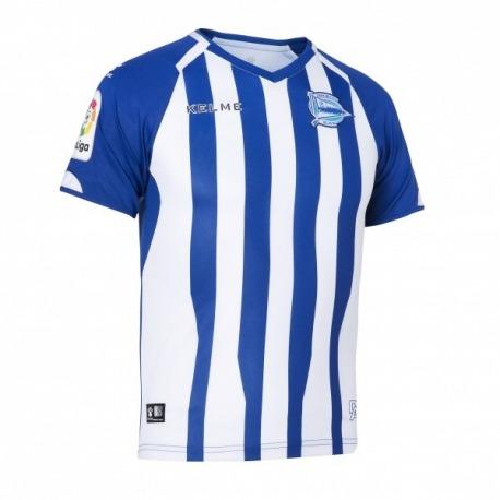 Camiseta de la 1ª equipación del DEPORTIVO ALAVES 18-19 Kelme e8a758aa815a7