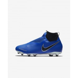 Botas de fútbol NIKE JR PHANTOM VISION ACADEMY DF FG/MG Junior Color Azul