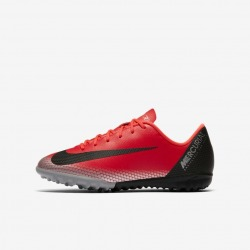 Botas de fútbol NIKE JR VAPOR 12 ACADEMY CR7 GS TURF Junior Color carmesi