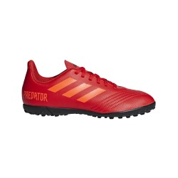 ADIDAS PREDATOR FOOTBALL BOOTS 19.4 TURF JUNIOR INITIATOR PACK
