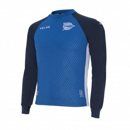 DEPORTIVO ALAVES 18-19 Training sweatshirt Kelme