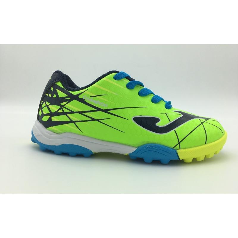 8fa4115faa2d7 ... JOMA CHAMPION JR 911 Fluor TURF FOOTBALL BOOTS ...