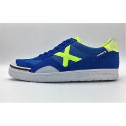 Zapatillas de fútbol sala MUNICH GRESCA Azul-Verde