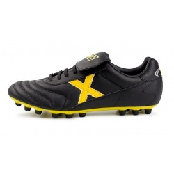 MUNICH MUNDIAL U25 BLACK-YELLOW FOOTBALL BOOTS AG