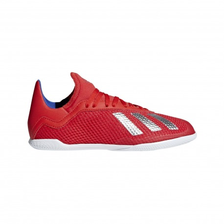 Zapatillas de Fútbol Sala ADIDAS X 18.3 IN Junior - EXHIBIT PACK