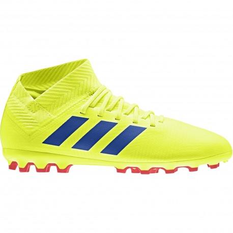 Botas de fútbol ADIDAS NEMEZIZ 18.3 AG Junior - EXHIBIT PACK