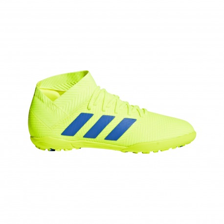 Botas de fútbol ADIDAS NEMEZIZ 18.3 TURF Junior - EXHIBIT PACK
