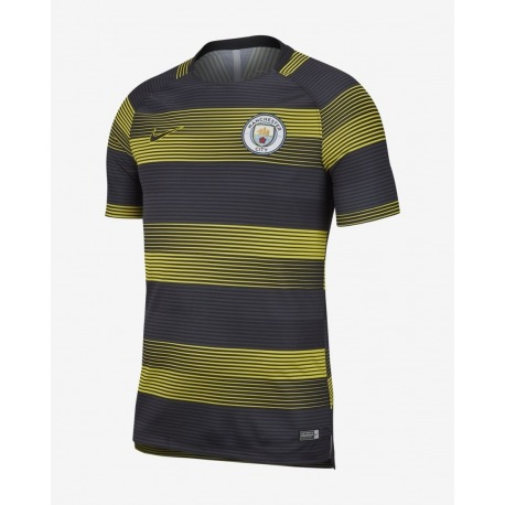 Pre Match Top MANCHESTER CITY FC Tshirt 18/19 - NIKE