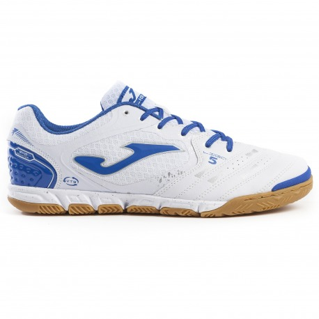 Zapatillas de fútbol sala JOMA LIGA 5 902 BLANCO-ROYAL Junior