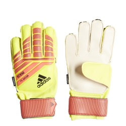 Gloves Goalkeeper ADIDAS Predator Fingersave Junior Solar yellow-solar red