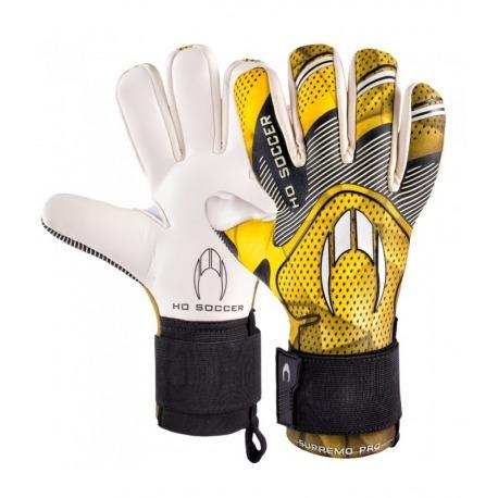 HO SOCCER SUPREMO PRO NEGATIVE YELLOW Goalkeeper Gloves