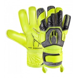 HO SOCCER BASIC PROTEK FLAT POWER LIME Goalkeeper Gloves