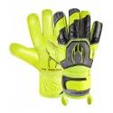 HO SOCCER BASIC PROTEK FLAT POWER LIME Goalkeeper Gloves
