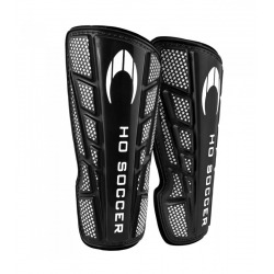 HO SOCCER One Blue or Black Shinpads