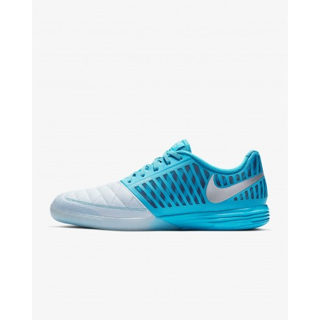 best service 79cdc 2a933 NIKE LUNARGATO II Blue Indoor Football Shoes