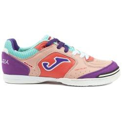 Zapatillas de Fútbol Sala JOMA TOP FLEX 816 Rosa-Morado INDOOR Mujer